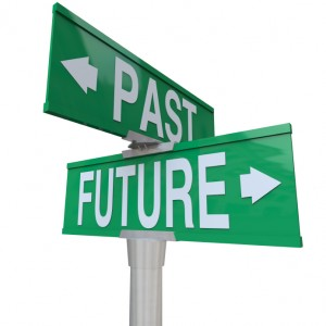 Past Future Street Sign
