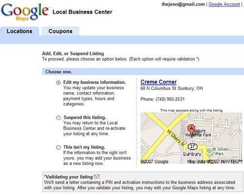 Are You Using Google s? Google Maps Address Validation on google building inside, google address form, google tracking, google local, google marketing,