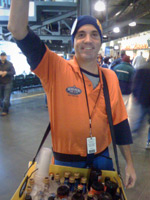 Mariners Beer Vendor Kevin Zelko