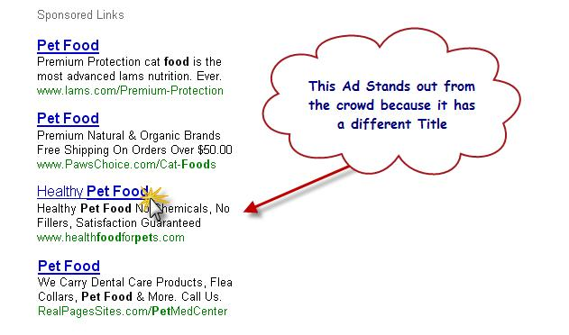 Google AdWords Stand Out