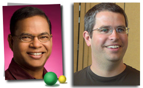 Amit Singhal and Matt Cutts